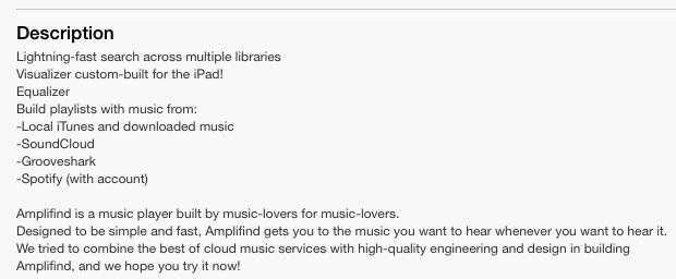 Amplifind Music Player Gets AB — Audiobus Forum