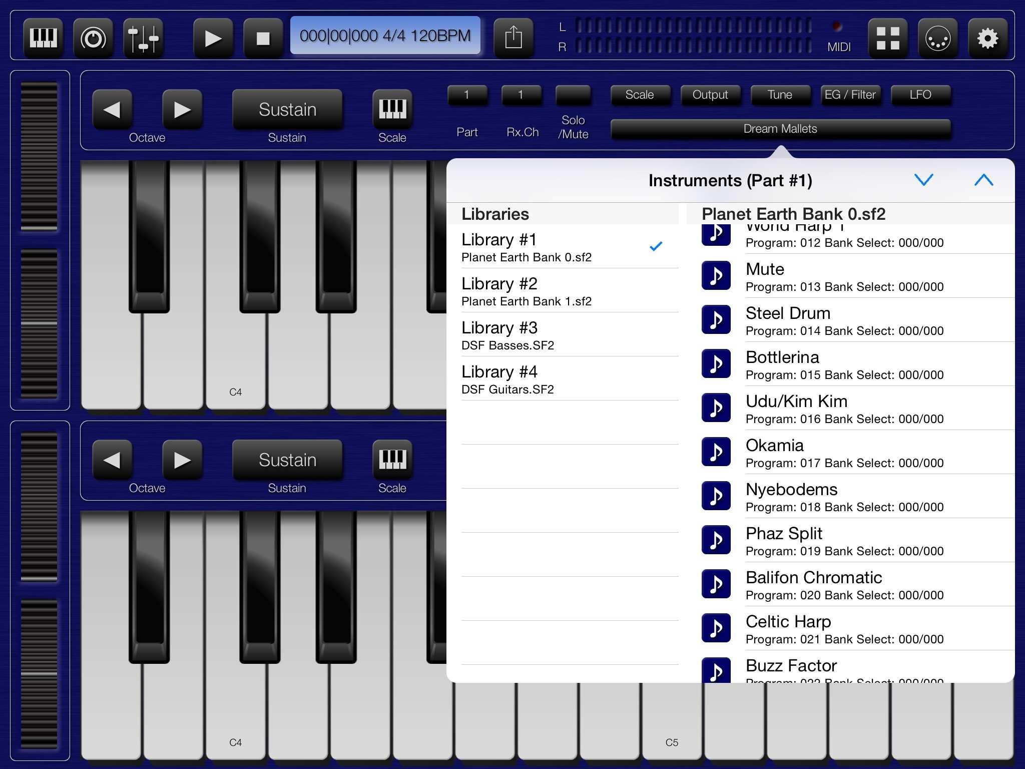 Proteus Soundfonts — Audiobus Forum