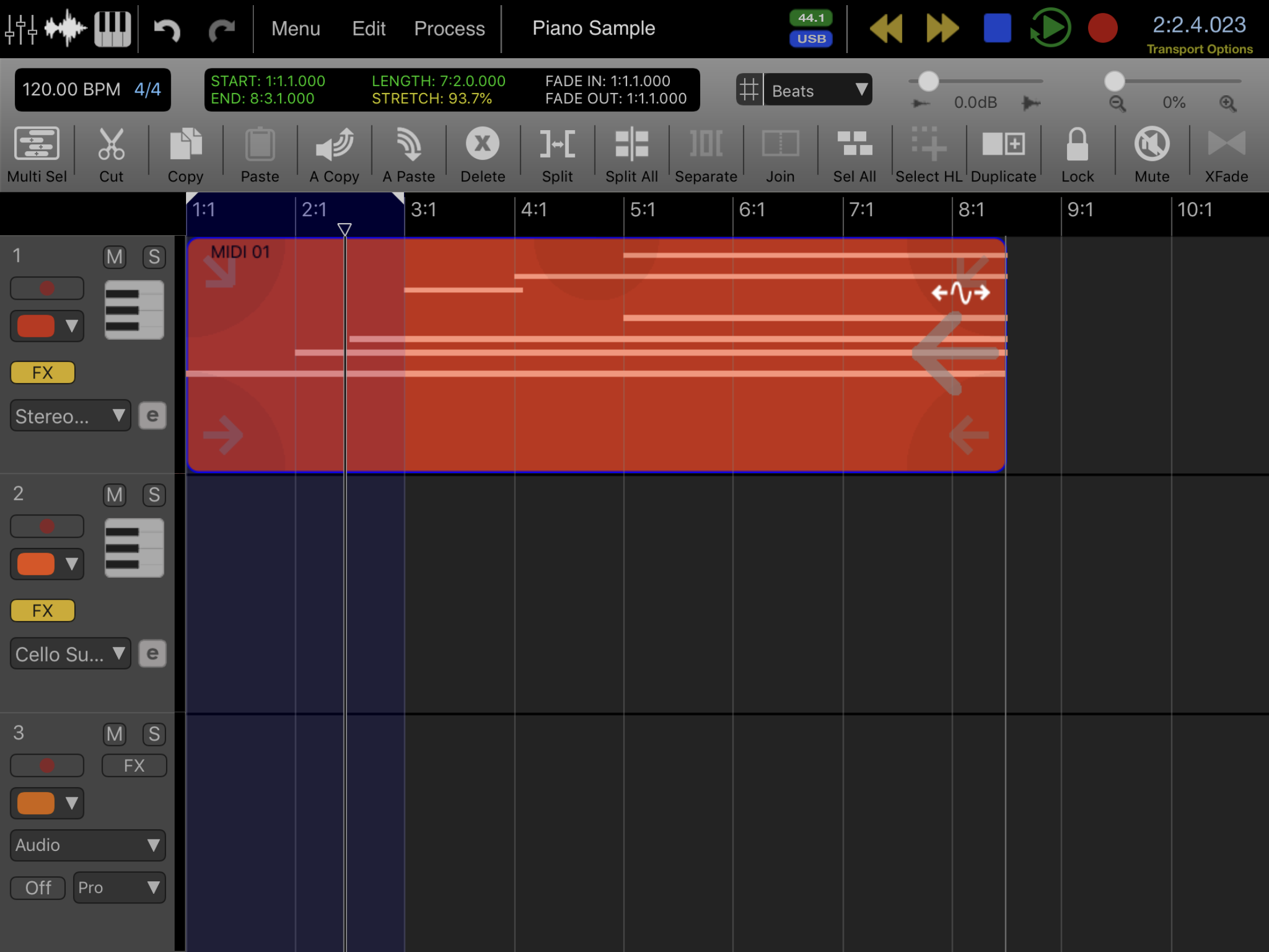 Review Auria HD for iPad : Ask.Audio
