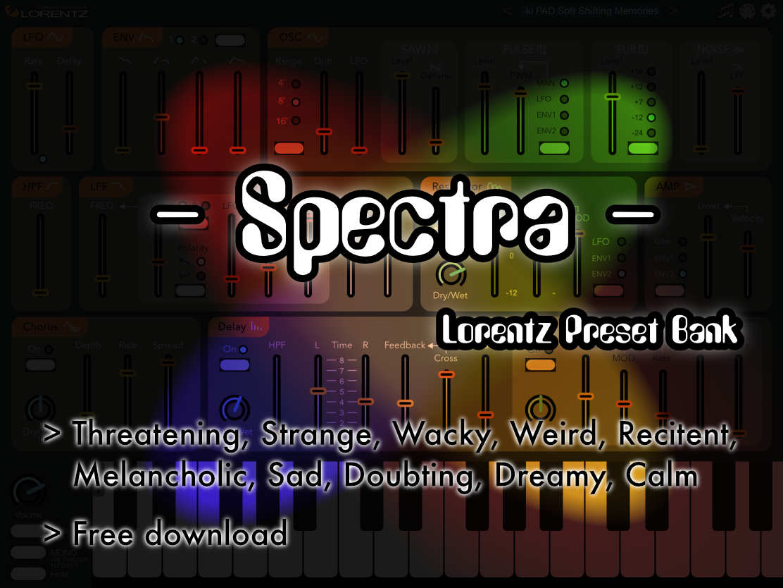 """Lorentz """"- Spectra -"""" Preset Bank v1 (free) — Audiobus Forum"""