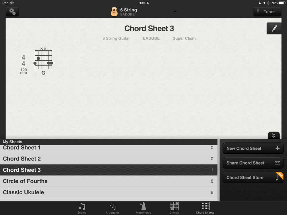 App for guitar chord sheets with customizable diagrams — Audiobus Forum
