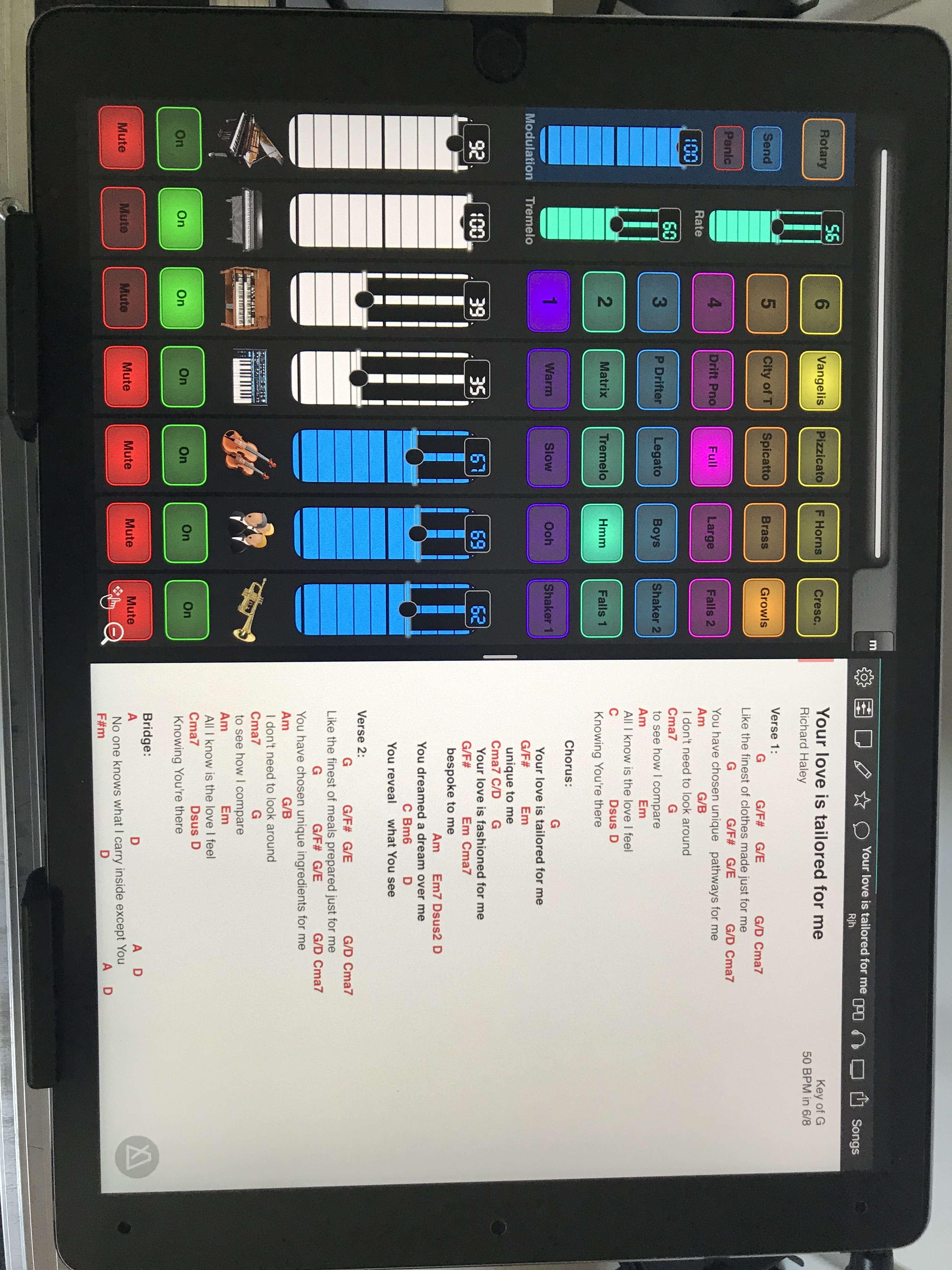 IOS keyboard rig complete — Audiobus Forum