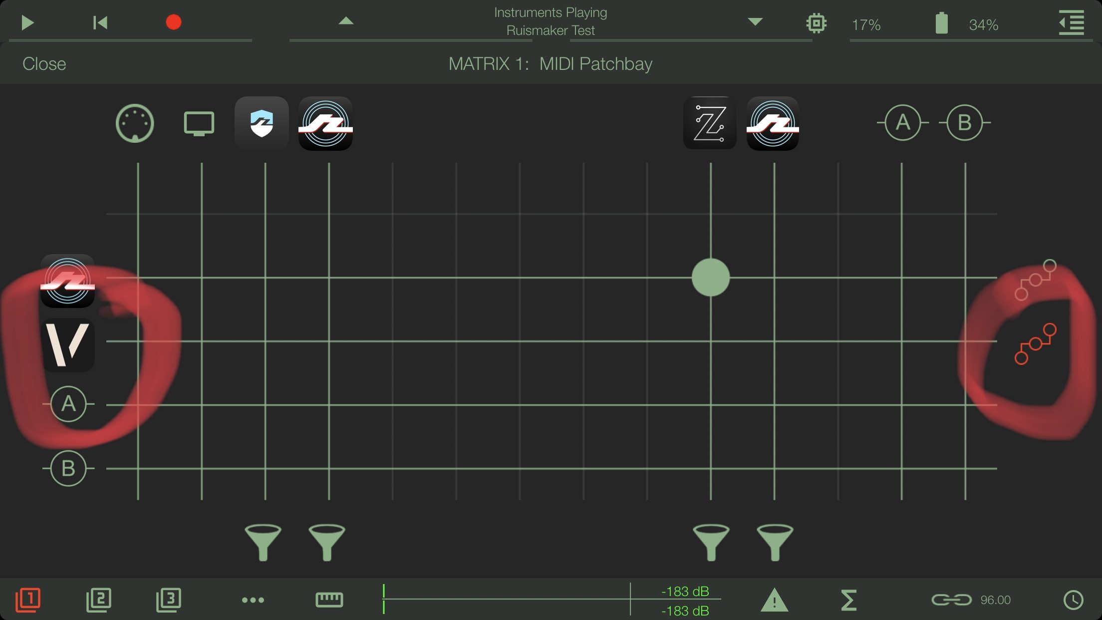 ApeMatrix & Envolver — Audiobus Forum