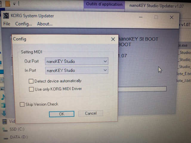 SOLVED] Nanokey Studio lost connection with Korg Electribe