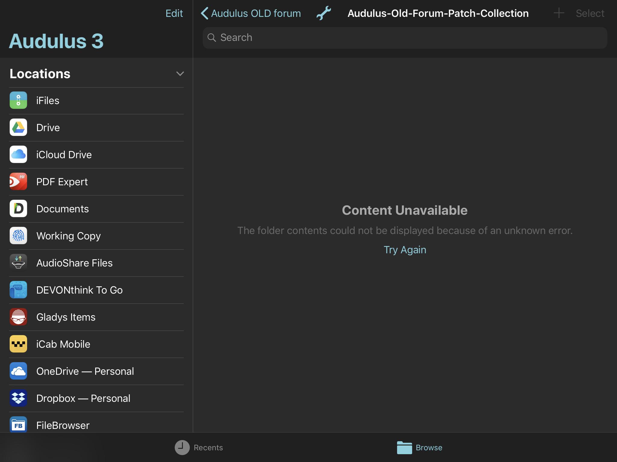 Audulus Update with METAL - Performance better? — Audiobus Forum
