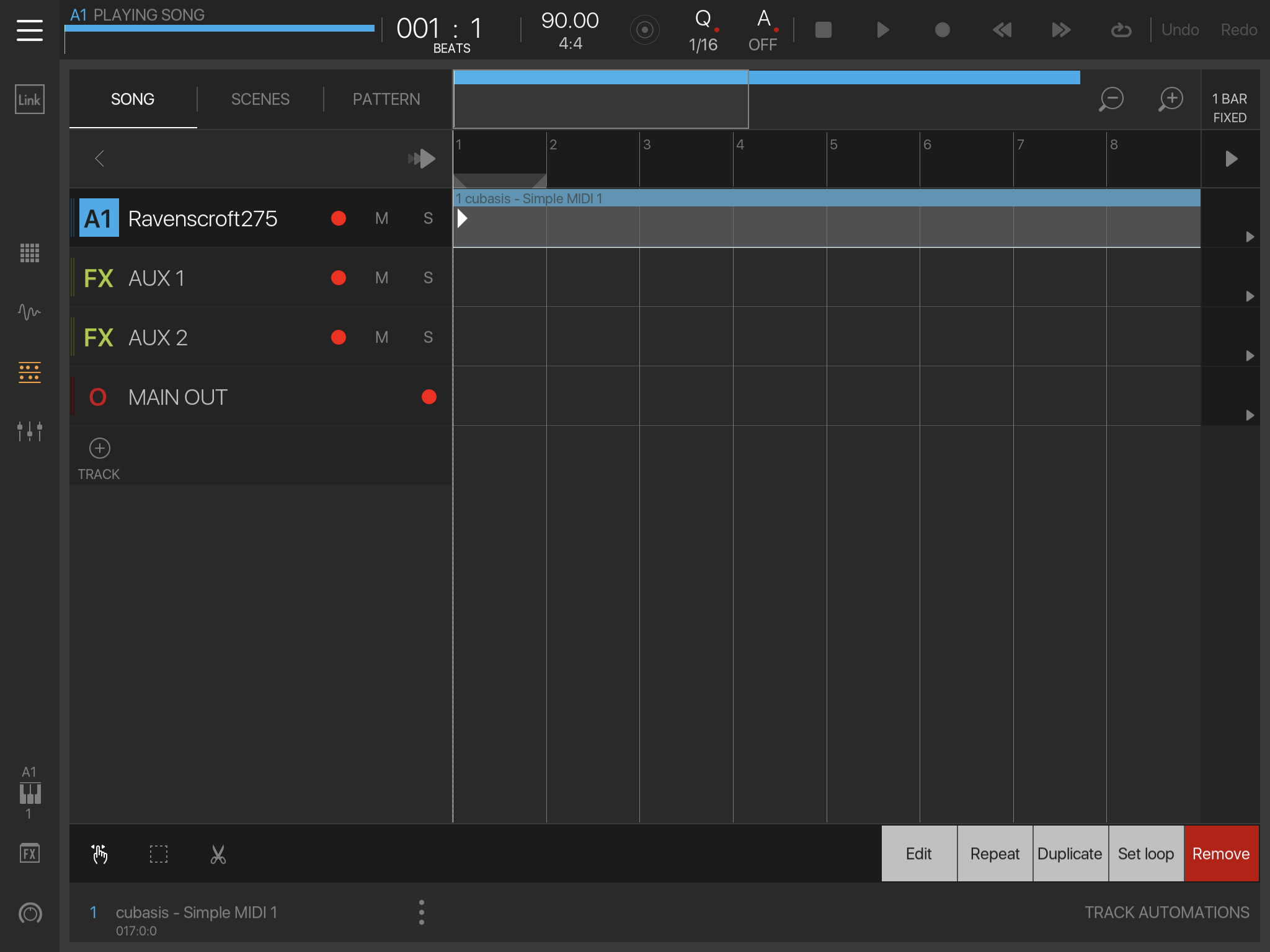 BeatMaker 3: How to play an AU from a MIDI file? — Audiobus