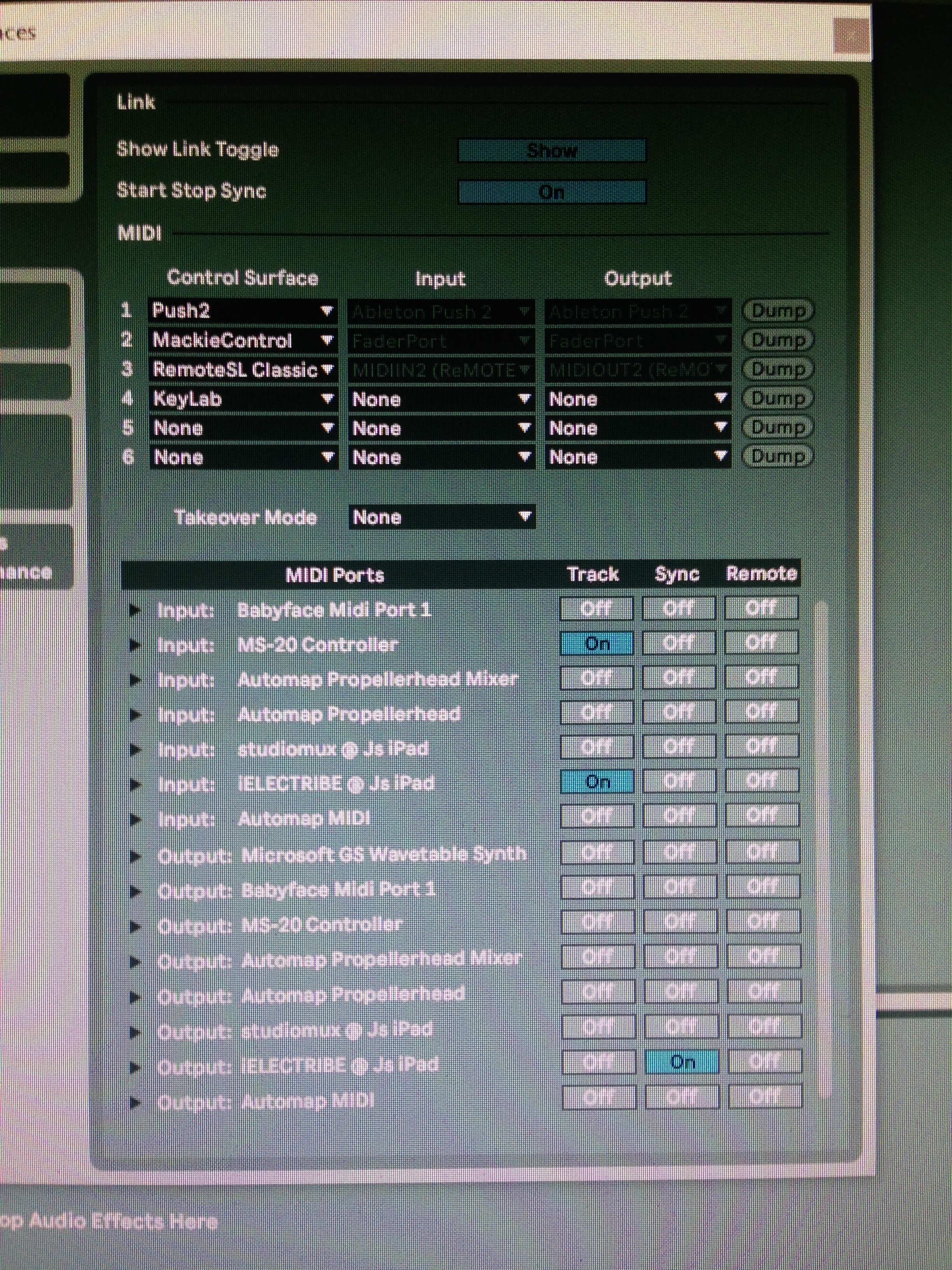 iElectribe and MIDI sync problem — Audiobus Forum