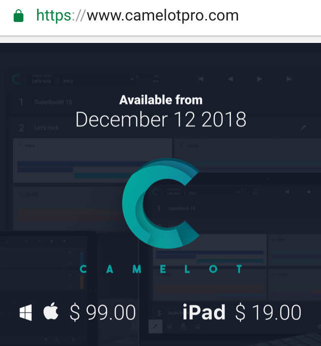 Will Camelot Pro Be like MainStage for iOS? - Page 2 — Audiobus Forum