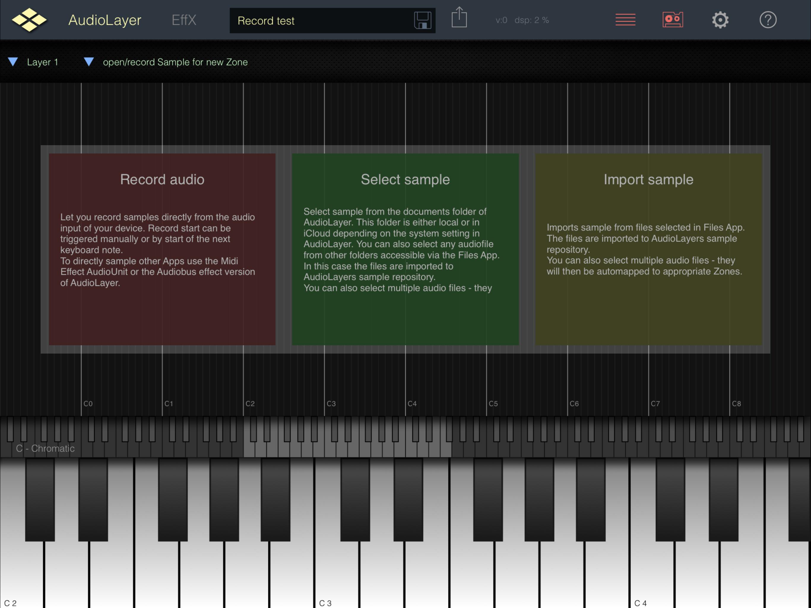 Creating my own samples — Audiobus Forum