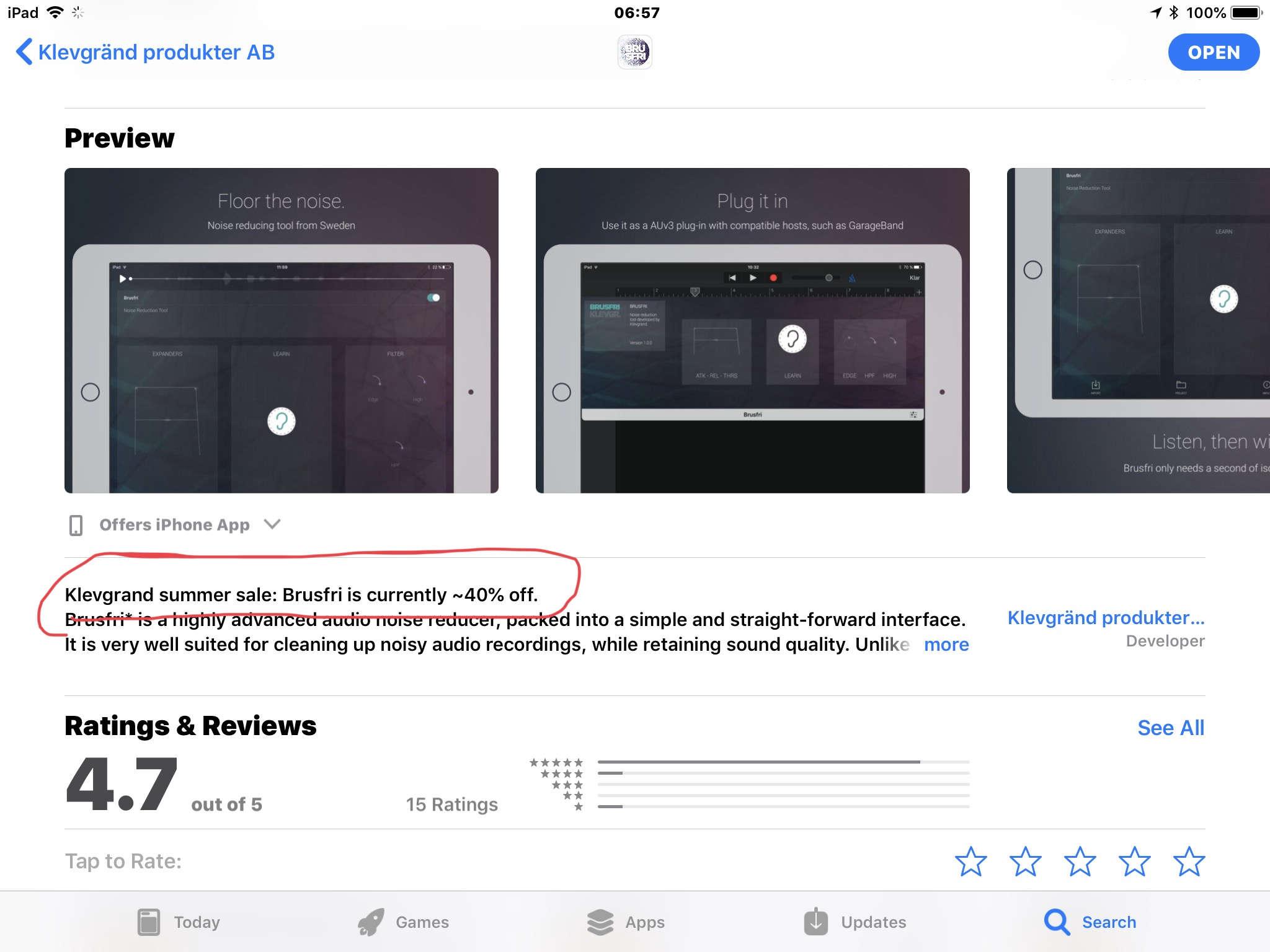 App Store NEW MATH? Klevgrand Apps 40% off sale — Audiobus Forum